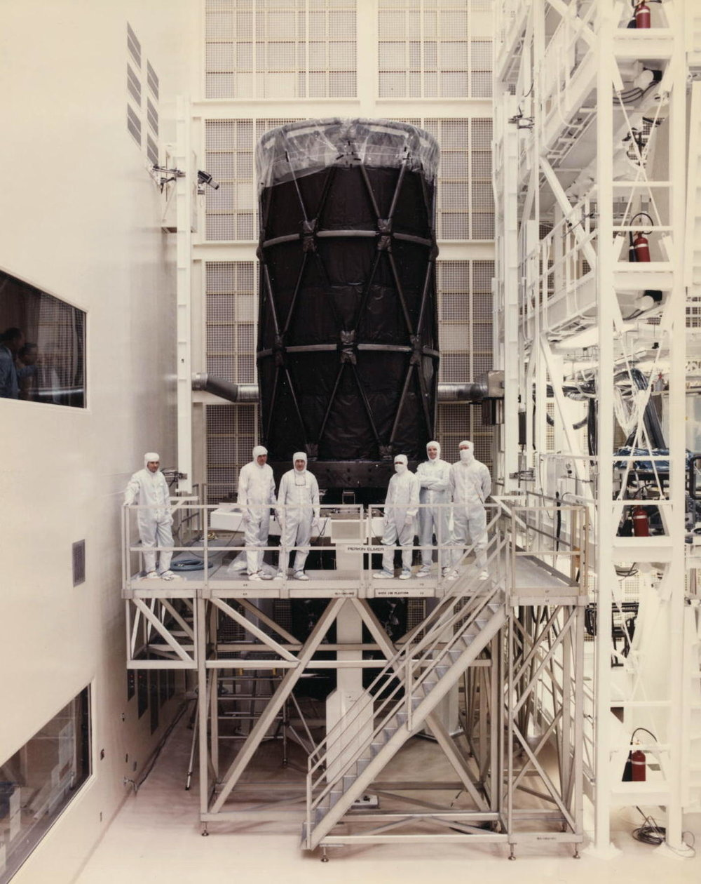 Guys working on the Hubble