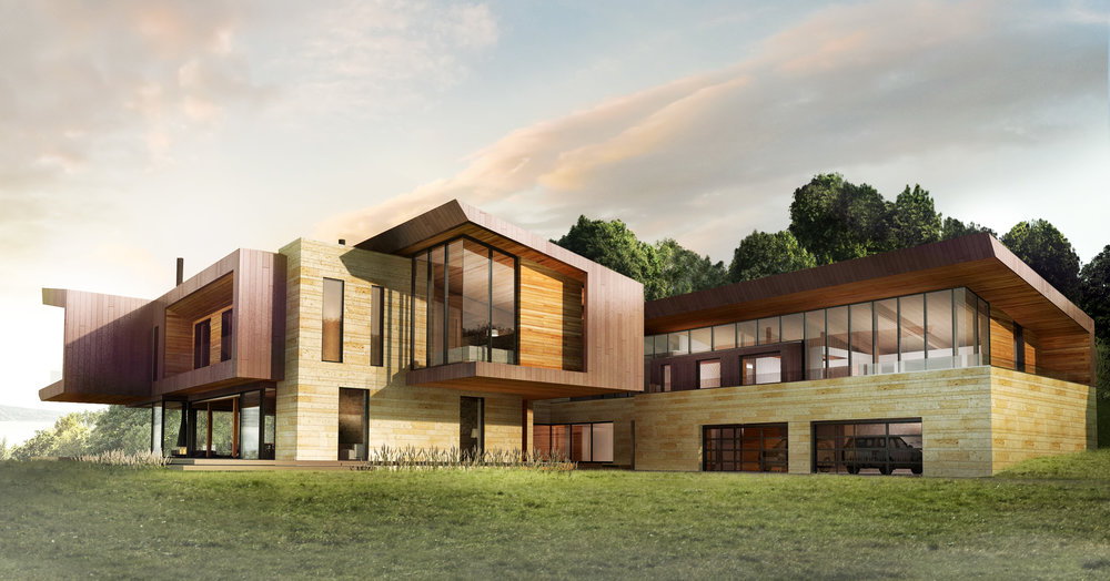 Bureau Panorama Architecture : Architecture interior design u handel architects