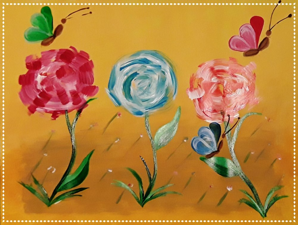3 Spring Flowers