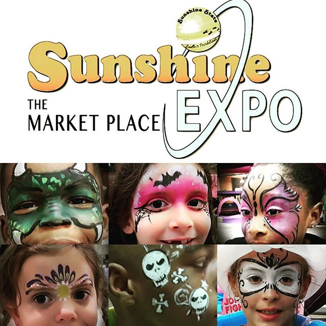 Awesome day at Sunshine Expo at the Orange Park Mall. Fall is here and it shows on some of the faces we paint. Thank you Sylvia for inviting us. We look forward to November's event. #facepaintingjacksonvillefl #sunshineoneconnection #orangeparkmall #paintonyou