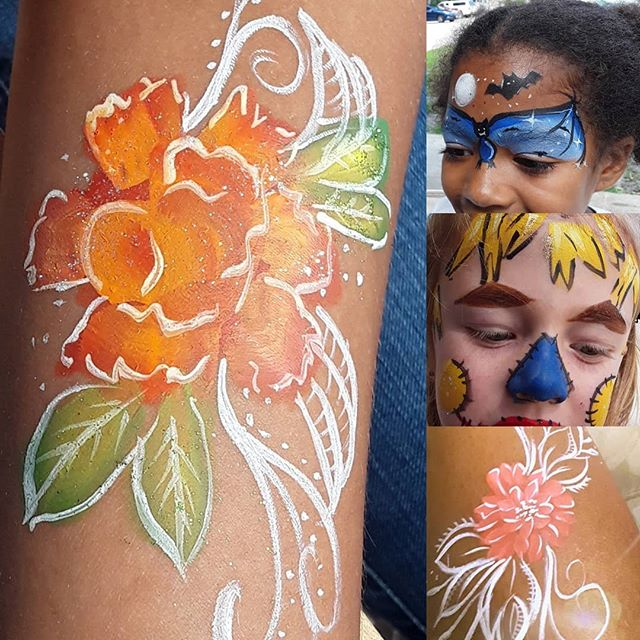 Fall flowers, Scare Crows, Bats and much more at CHS Fall picnic.  The kids activities and weather were all wonderful.  Love doing this event and seeing the kids grow. #familyfallfestival, #facepainting, #facepaintingjax #familyevents, #fallflowers, @childrenshomesocietyofflorida