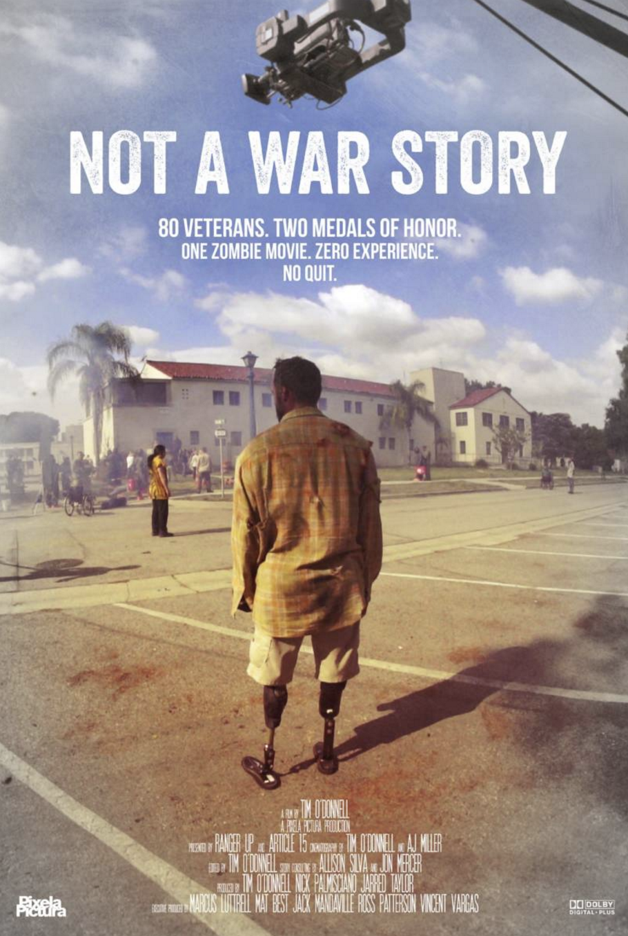Nick Palmisciano - Producer of 'Not A War Story'