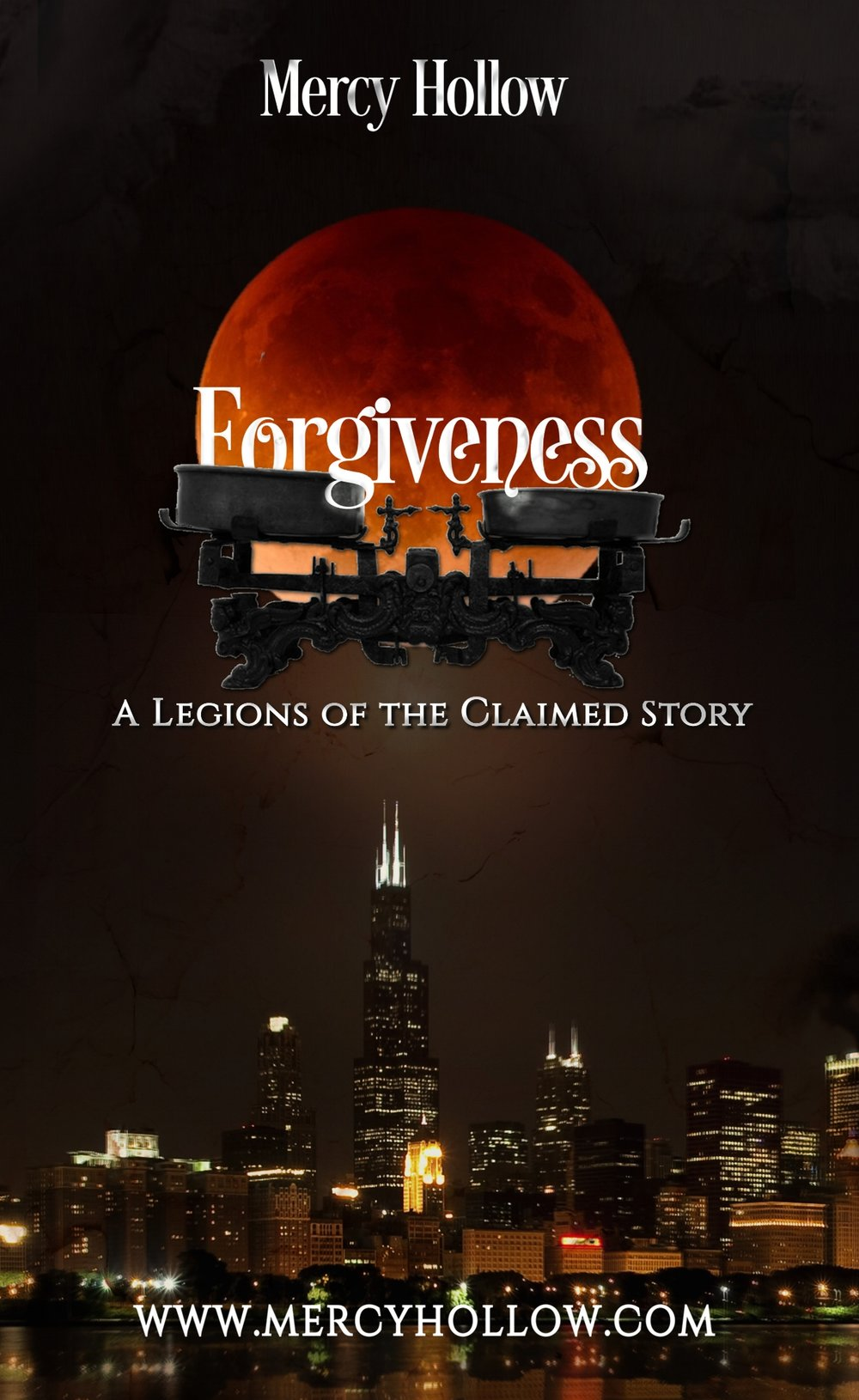 Join the street team and get a free Legions of the Claimed story - Forgiveness.