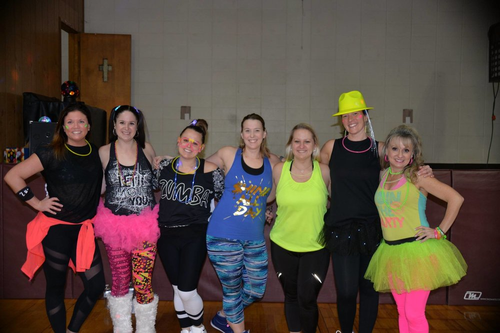 Thank you to all of the instructors for volunteering their time for our 4th Annual Zumbathon!