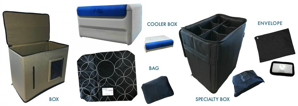 Returnity reusable shipping boxes, coolers, bags and envelopes