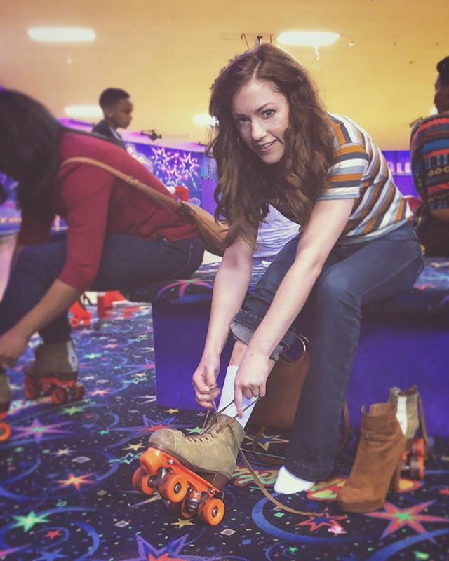 queen of the roller rink ✌🏻 . shoutout to ✨Sparkles✨ for still existing & to @_j_r_h for taking nifty pictures