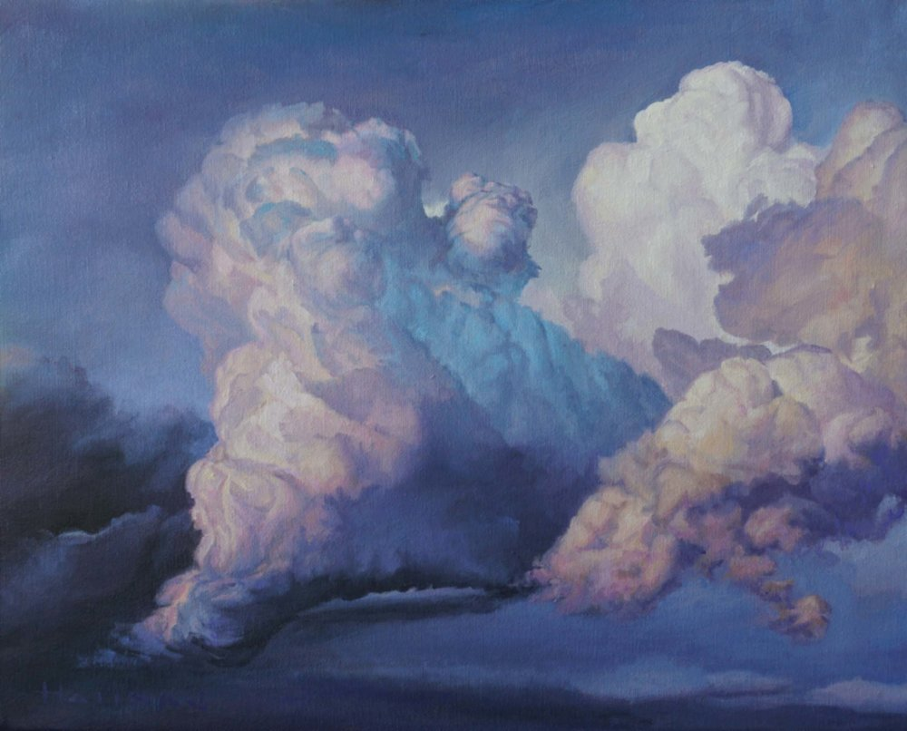"Top:  On the Shoulders of Giants  | 36"" x 48"" 