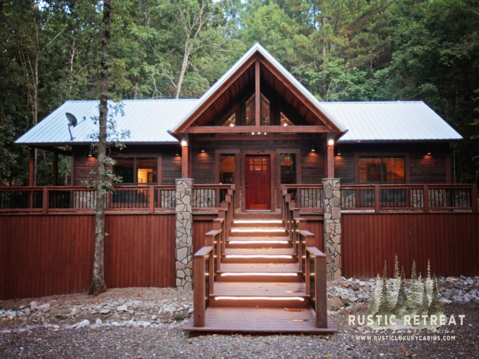 Rustic Retreat Broken Bow Cabin Front Watermark.JPG