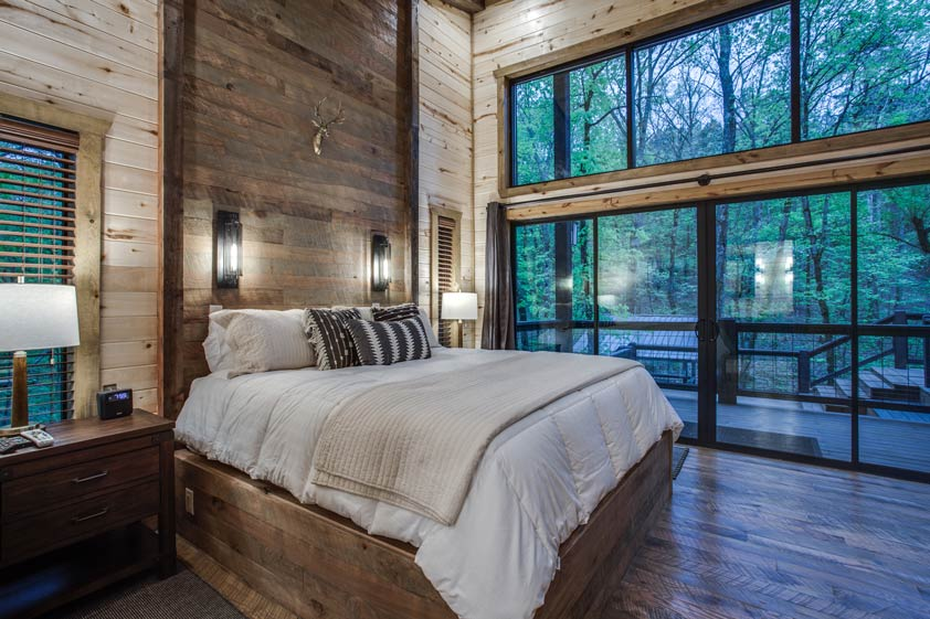 Broken Bow Luxury Cabin 2 Bedroom Rustic Hollow Cabin