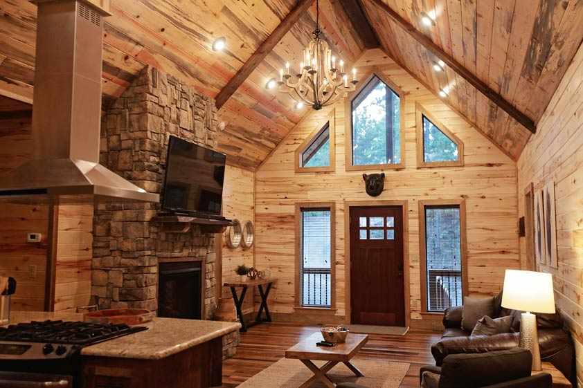 Rustic Retreat | Living Room