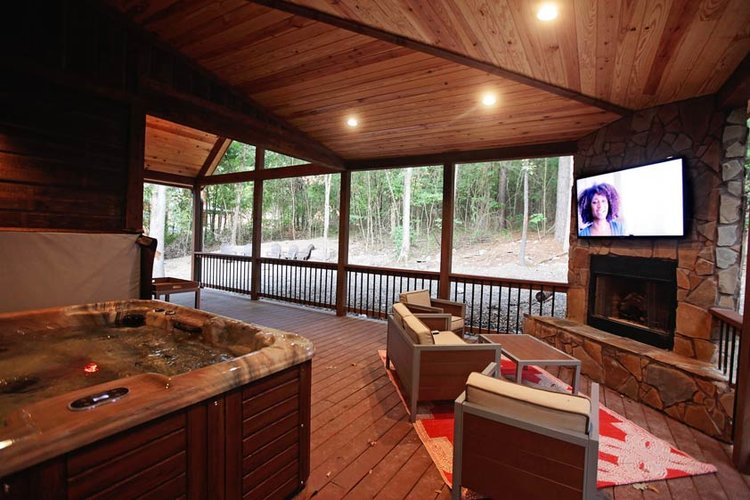 bow nature in triple bunkhouse oaks booking ok p broken cabins