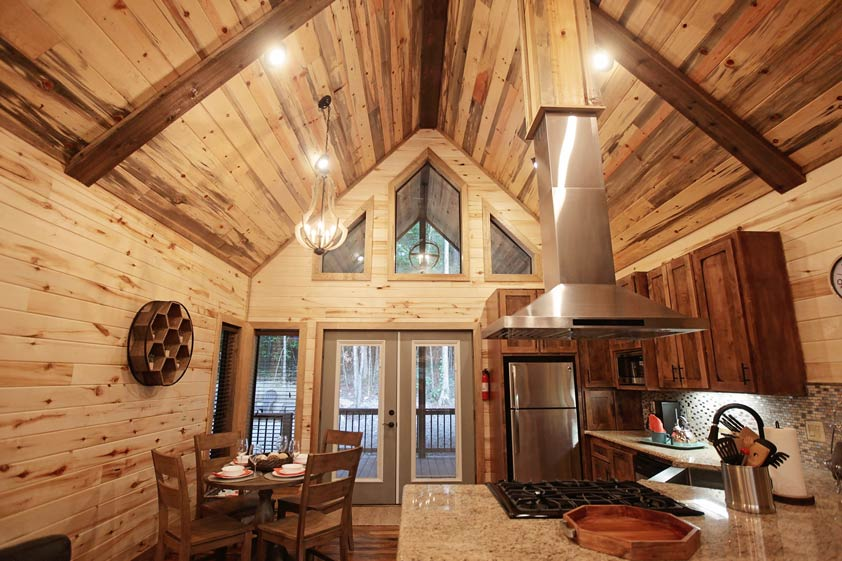 Rustic Retreat | Kitchen