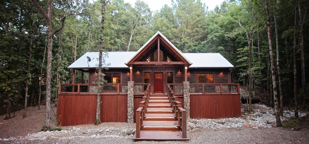 Broken Bow Luxury Cabins Vacation Cabin Rental Near