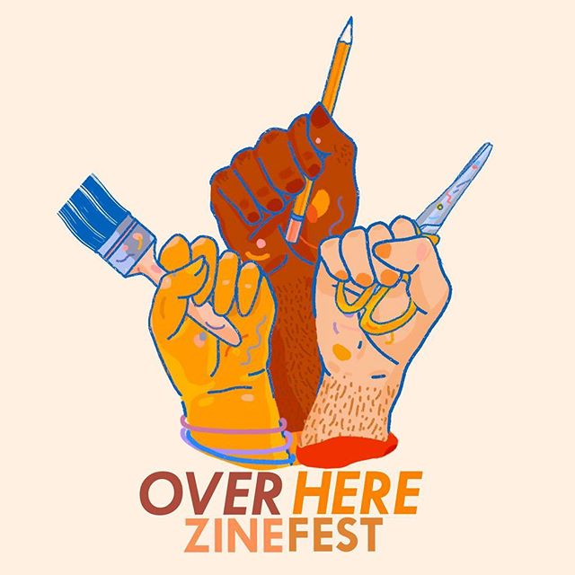 POC zine makers, applications for @overherezinefest are now open! More info coming soon ‼️#overherezinefest