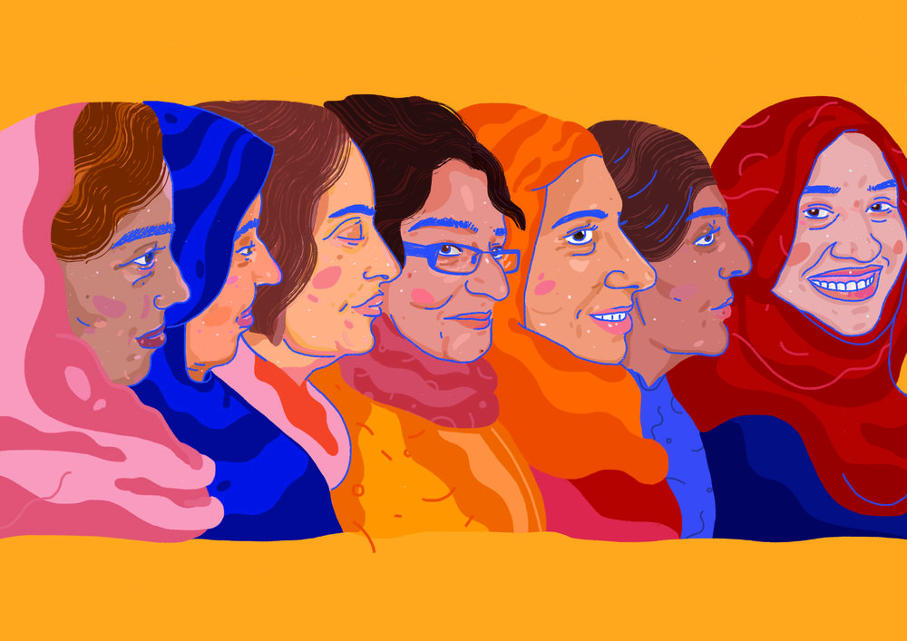Active Citizens'  CHAI Project  by Oldham Coliseum    Showcasing and empowering Muslim women, the project aims to encourage skill-sharing and strengthening minority communities.    Community Project/ Residency, 2017