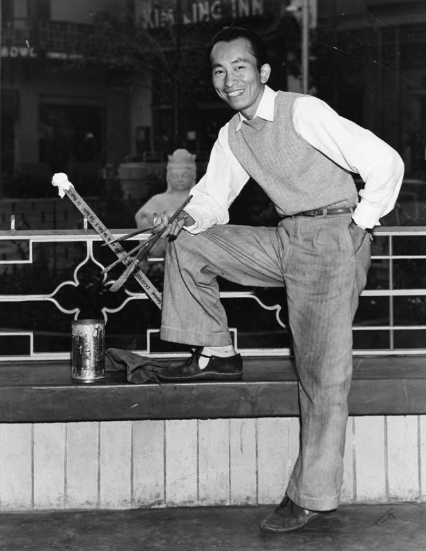 Tyrus Wong  - photo courtesy of the Wong Family