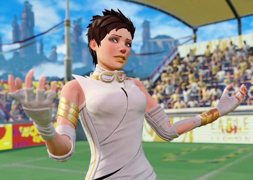 Carmen in Kinect Sports Rivals