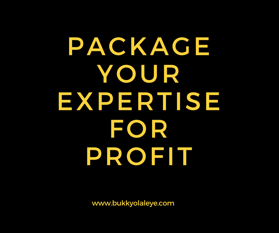 - Package Your Expertise for Profit is the program you need when you want to put all your knowledge and expertise into a powerful package that YOUR clients can use to create powerful results in their life. Are you a designer, coach, author, architect, mom, developer, artist, consultant......you can PACKAGE YOUR EXPERTISE FOR PROFITLEARN MORE >>