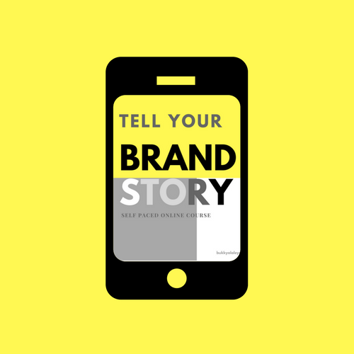 Brand story mobile