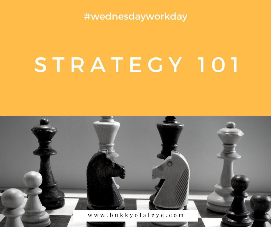 strategy 101 bukkyolaleye
