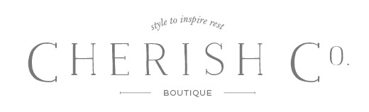 Website, logo design, business cards, graphic design, and branding for Cherish Co Boutique, an online women's clothing boutique based in Richmond, Virginia.  HTML and CSS  Squarespace  Illustrator CC  Photoshop CC