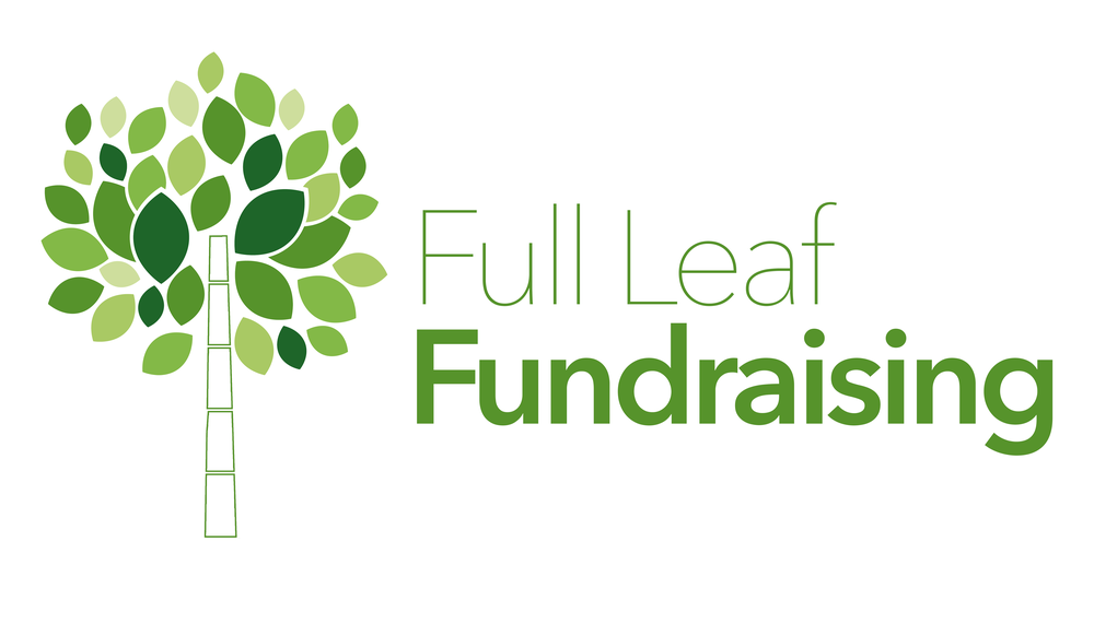 Logo design and branding package for Full Leaf Fundraising in Suffolk, VA.  Illustrator CC  Photoshop CC
