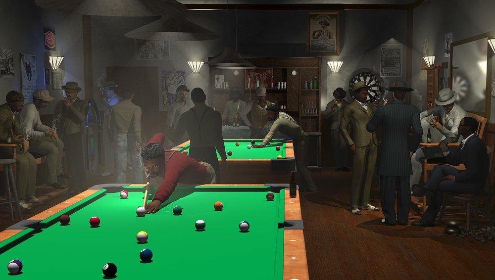 8-Ball Pool Room