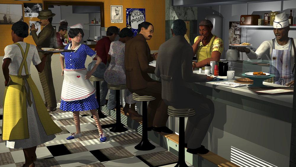 Oza's DeLuxe Cafe