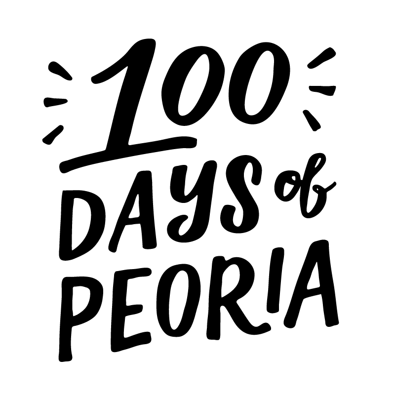 100 DAYS OF PEORIA - We spent 100+ days showcasing local businesses, attractions, and events through the development of representative designs. 100 Days of Peoria put lettering and illustration to work to explore and appreciate all that our city has to offer.