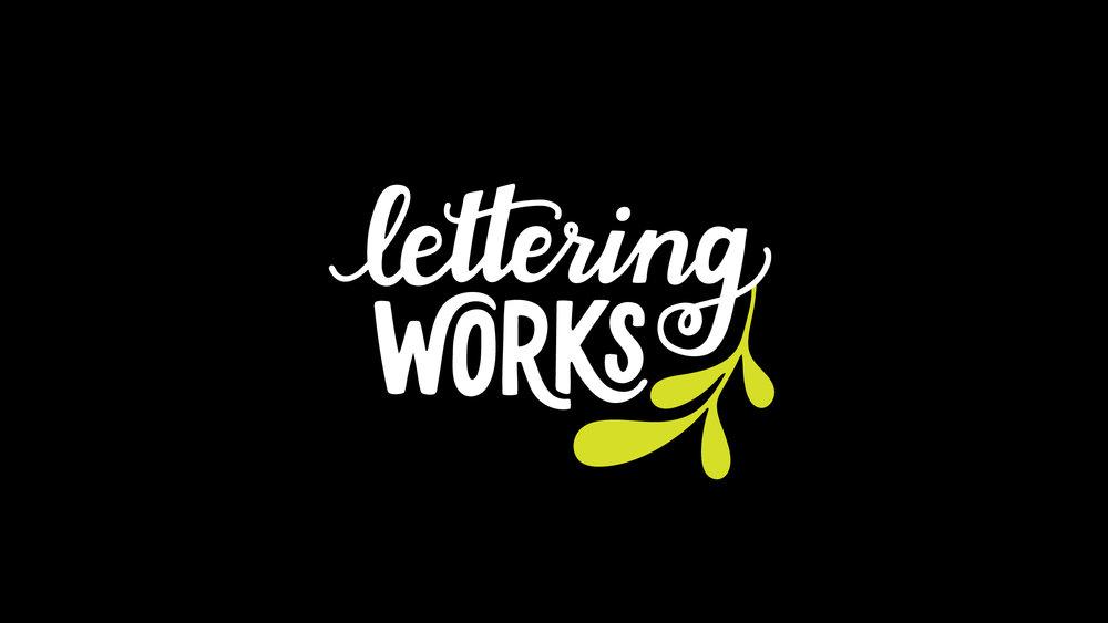 Lettering Works Logo