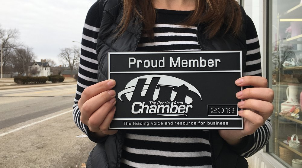 Proud Member Plaque - The Peoria Area Chamber