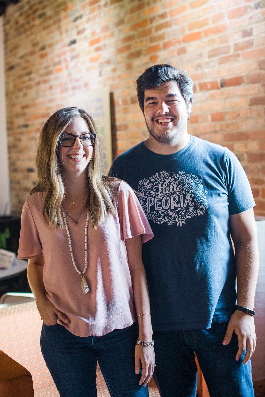 Abby Gettys and Daniel Hart