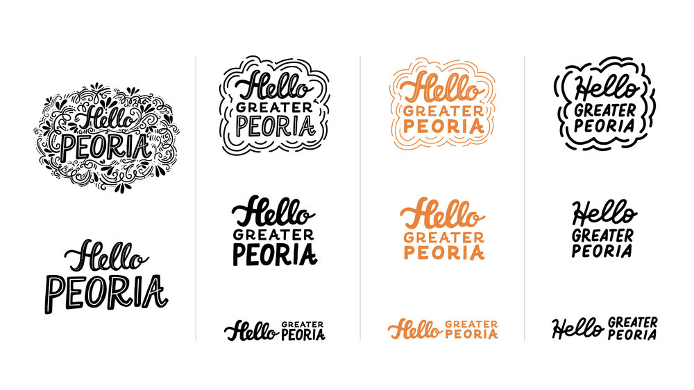 Hello (Greater) Peoria Design Evolution