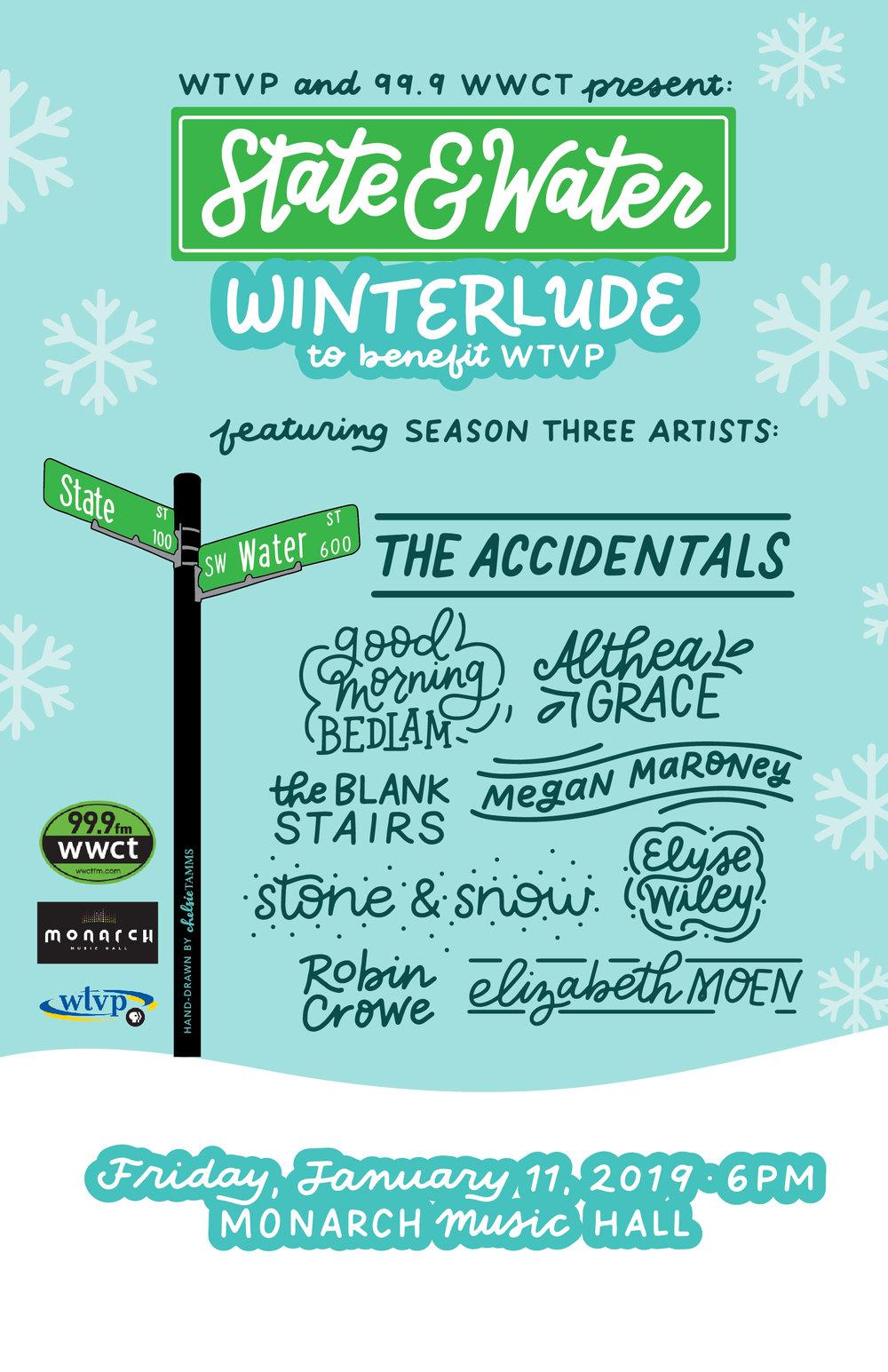 Design for WTVP's Winterlude Benefit