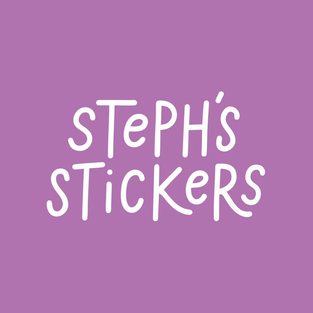 STEPH'S STICKERS - A collaborative passion project with Peoria resident, Steph Perry, who has autism and Ehlers Danlos Syndrome among other disabilities. The project aims to promote awareness and positivity that transcends any abilities or disabilities.