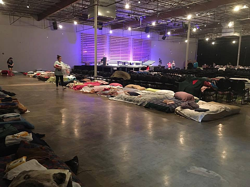 Church Project providing sheltor, food, clothing to many Hurricane Harvey affected families...