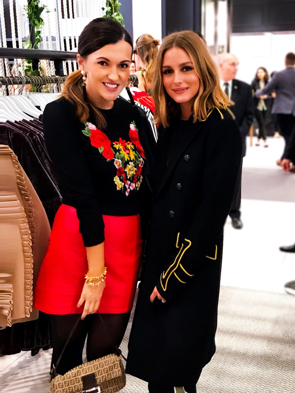 One of my favorite moments from NYFW was meeting Olivia Palmero. She collaborated with Banana Republic and designed beauitful ready to wear pieces that are simply stunning! I have admired her classy, chic and feminine style for years. She was so sweet and more gorgeous in person!