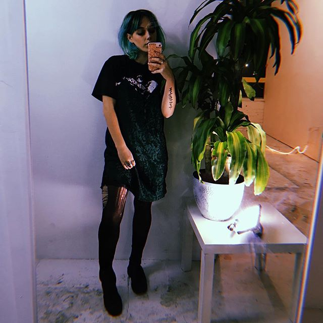 Throwback to the ~*green era*~ What color is next? Do u even give a shit?