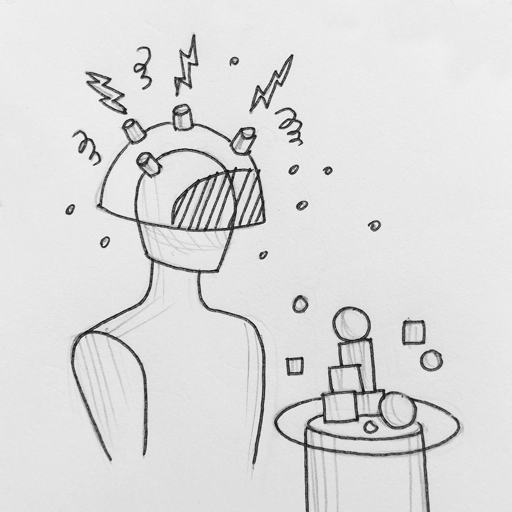 Day 15 : Mood food. A device that detects your current mood and builds a meal that accentuates or helps relieve that mood #100DaysofFooood #The100DayProject