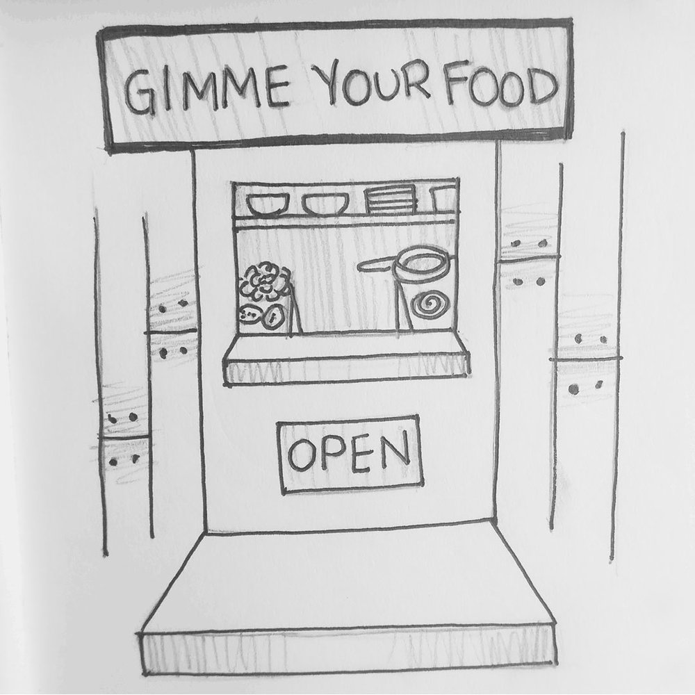 Day 27 : Ottawa needs one of those food stalls that cooks meals with the ingredients customers bring them #100DaysofFooood #the100dayproject