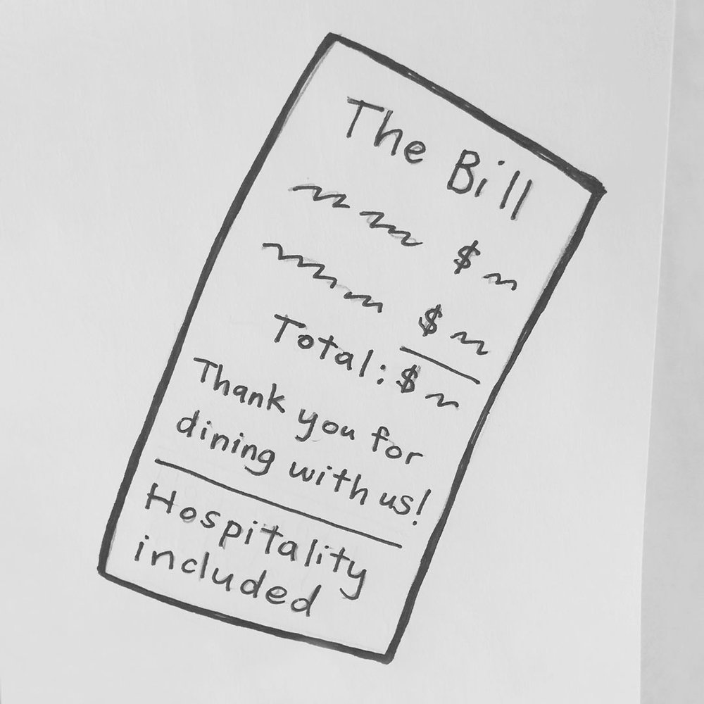 Day 29 : Popularize elimination of tipping to reduce the divide among restaurant staff. Equalizing back-of-house and front-of-house pay, less pressure for servers to perform, ease of scheduling, less awkwardness for customers, etc. #100DaysofFooood #the100dayproject