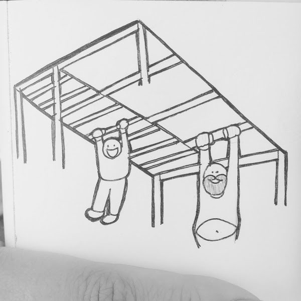 Day 64 : McDonalds should upgrade their Play Place to have adult AND children friendly jungle gyms (ex. extra large, extra long slides). Parents can play and exercise with their kids #100DaysofFooood #the100dayproject