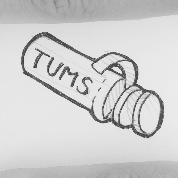 Day 66 : I sometimes think restaurants should offer Tums or Pepto Bismal as a menu option to help us through the entire meal process on those bad days #100DaysofFooood #the100dayproject