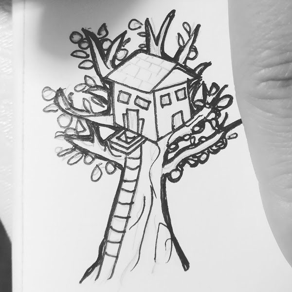 Day 78 : Move housing into the trees so we can grow more greenery and eat the food our homes grow #100DaysofFooood #the100dayproject