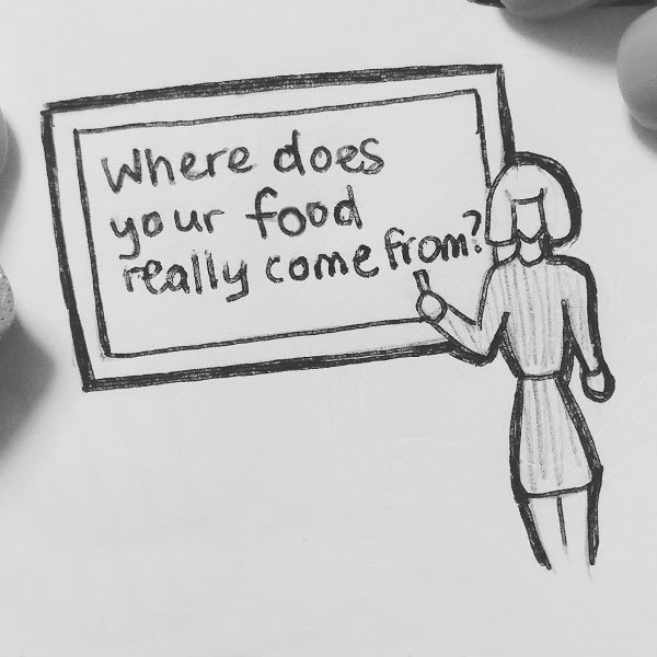 Day 74 : High school nutrition classes should teach something other than the food pyramid, like how to read nutrition labels, food ethics, food insecurity, and foraging #100DaysofFooood #the100dayproject