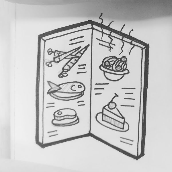 Day 92 : A scratch-and-sniff menu #100DaysofFooood #the100dayproject