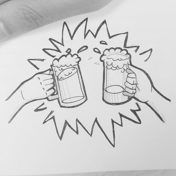 Day 100 : My final food thought: I really love beer! This girl has a beer-loving belly and she's proud of it. So I'm gonna celebrate the end of this 100 day challenge with an ice cold brewski (possibly 2). Cheers! 🍺🍻🙌 #100DaysofFooood #the100dayproject