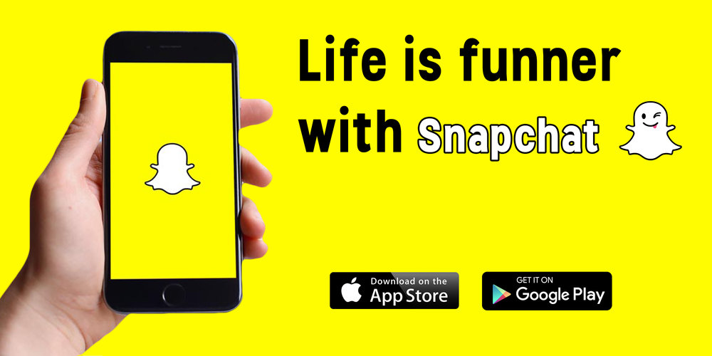 Billboard Ad for Snapchat. (Created and used for academic purposes only)