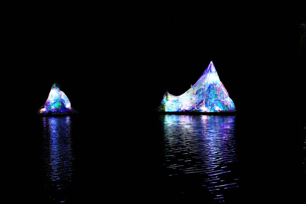 光譜原色-冰山|蔡宜婷 x 蔡奇宏 x 沃手工作