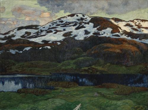 Helmer Osslund--A Summer Evening by Kallsjon.jpg